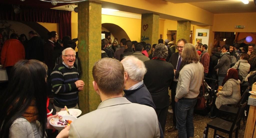 Großer Andrang beim Internationalen Neujahresempfang 2016 in Bernburg