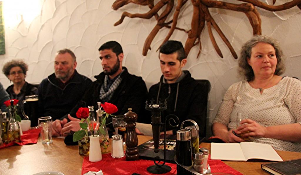 Zwei Gäste aus Syrien