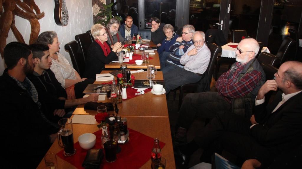 Montaagsforum am 15. Februar 2016 mit Birke Bull war gut besucht