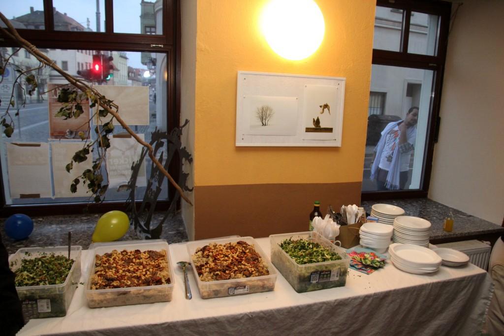 Couscous, feine Reisgerichte und viele frische Salate