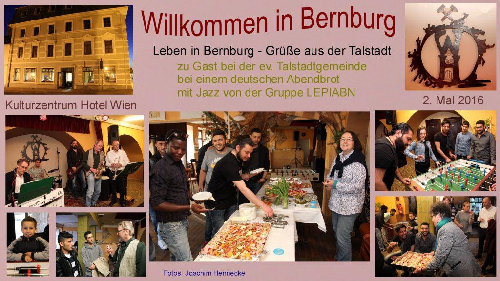 Bilder zum Internationalen Stammtisch in Bernburg am 2. Mai 2016
