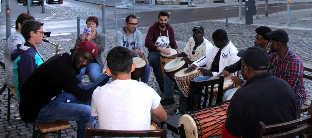 Internationaler Stammtisch, Afrikanischer Abend 2016, JH20160905,21